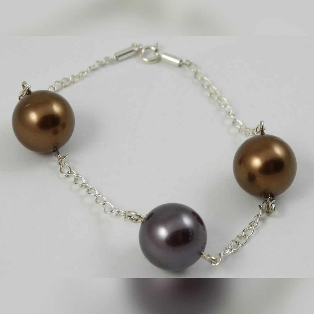 Sterling silver bracelet Link