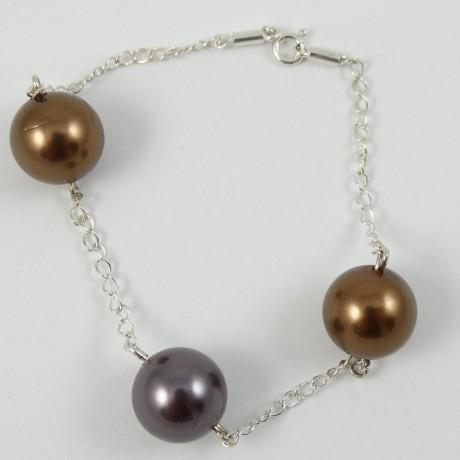 Sterling silver bracelet Link, Bijuterii de argint lucrate manual, handmade