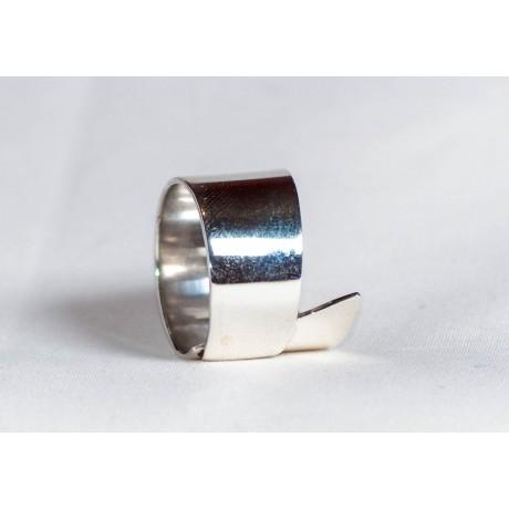Sterling silver ring, handmade & handcrafted, Bijuterii de argint lucrate manual, handmade