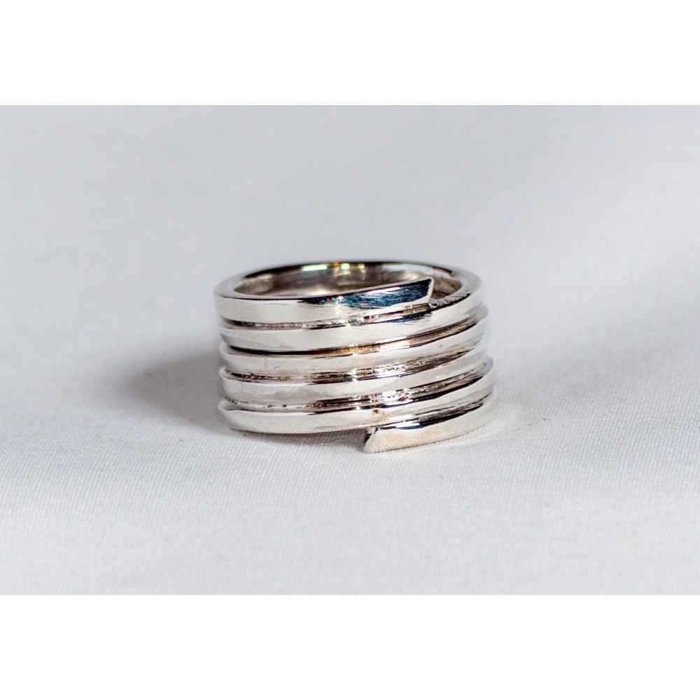 Sterling silver ring, handmade& handcrafted