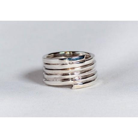 Sterling silver ring, handmade& handcrafted, Bijuterii de argint lucrate manual, handmade