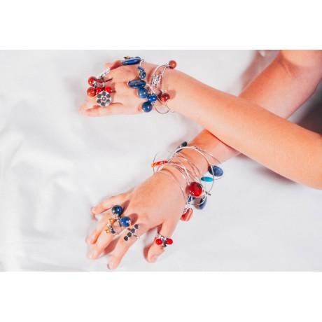 Bratara Summer Chic, Bijuterii de argint lucrate manual, handmade