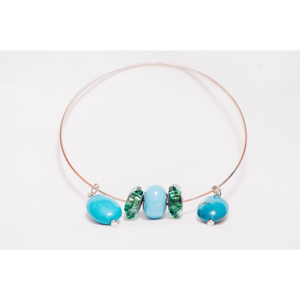 Bratara Emotion in Turquoise