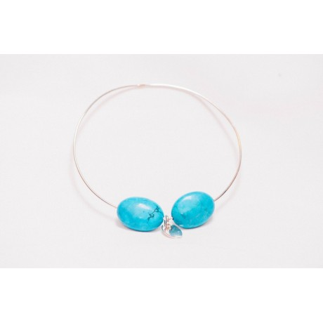 Bratara Flush of Blue, Bijuterii de argint lucrate manual, handmade