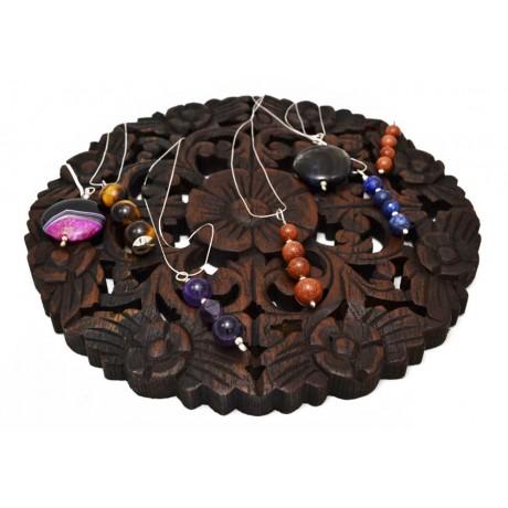 Pandantiv String of Beams, Bijuterii de argint lucrate manual, handmade