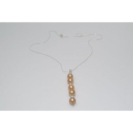 Pandantiv Pearly Lure, Bijuterii de argint lucrate manual, handmade